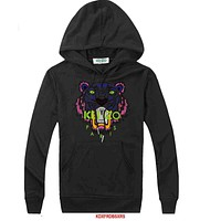 Kenzo  Women Men Casual Long Sleeve Top Sweater Hoodie Pullover Sweatshirt