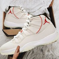 Air Jordan 11 AJ11s Fashion Men Women Personality Sport Shoes Basketball Sneakers