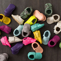 26-Color Leather Baby Shoes