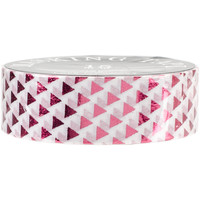 Love My Tapes Foil Washi Tape 15mmx10m-Red Triangles