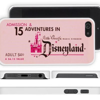 Vintage Disneyland Ticket iPhone Case
