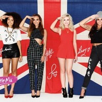 Posters: Little Mix Mini Poster - Salute, Union Jack (20 x 16 inches)