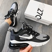 NIKE AIR MAX 270 air cushion sports running shoes