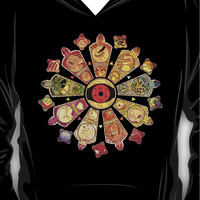 ?26300+ views?NARUTO: Tailed Beasts Hoodie (Pullover)
