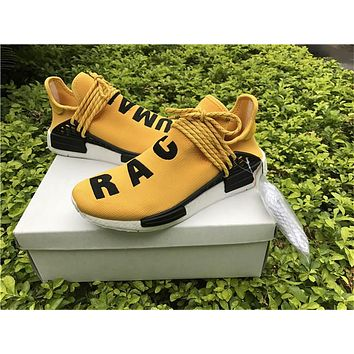 PW Human Race NMD Yellow SIZE 36-46