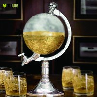 The Globe Drink Dispenser (with funnel and plug)