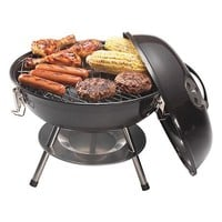 """14"""" Charcoal Grill Black"""