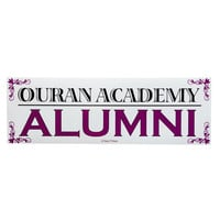 Ouran Host Club Anime Bumper Sticker - Ouran Academy Alumni