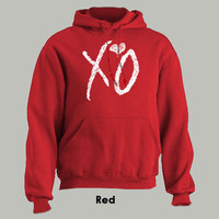 XO THE WEEKND  Hoodie drake hip hop weekend ovoxo by HotterTopic