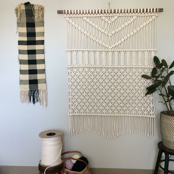 Macrame Wall Hanging, Forest