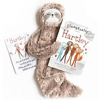 Slumberkins Hartley Family Bonding Bundle- Brown Silken Plush