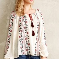 Colentina Peasant Blouse by Vanessa Virginia Ivory