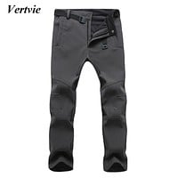 Vertvie Sports Pants For Men Snowobile Skiing Trousers For Men Winter Ski Pants For The Boy Snow Ice Skating Pants Sportswear