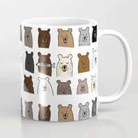 Bear Portraits Coffee Mug by doucettedesigns
