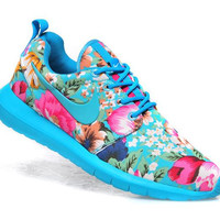 """NIKE"" Trending Fashion Floral Print Casual Sports Shoes"