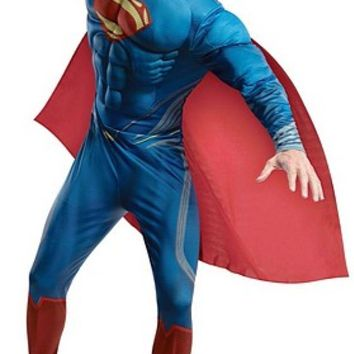 Man of Steel Deluxe Superman Muscle Costume | Oya Costumes