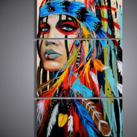 #1  Colorful Canvas Wall Art  3 PZ