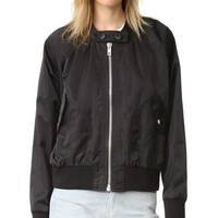 Midnight Bomber Jacket