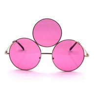 Third Eye Sunglasses- Pink