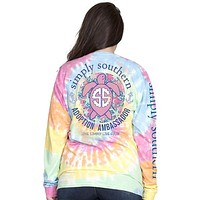 Ambassador - Save the Turtles LOGO - Tie Dye - SS - Adult Long Sleeve