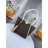 lv louis vuitton womens tote bag handbag shopping leather tote crossbody satchel 89