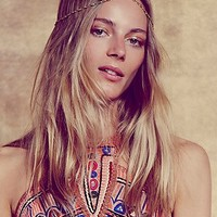 Foreign Archives Womens Shimmer Chain Headpiece