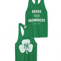 New York Yankees St. Patricks Day Tank - PINK - Victoria's Secret
