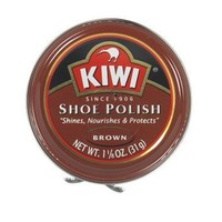 Kiwi Brown Shoe Polish, 1-1/8 oz