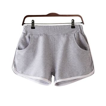 Woman Yoga Shorts Outdoor Running Ladies Girl Shorts Athletic Sport Gym Workout Fitness Clothes Jogging Homewear Sportwear