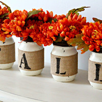 Rustic Farmhouse Fall Home Decor, Fall Fireplace and Table Decorations