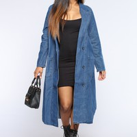 This Is What You Came For Coat - Medium