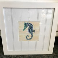 Assorted White Sea Life Picture - Coastal Gifts & Decor