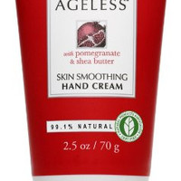 Burt's Bees Naturally Ageless Skin Smoothing Hand Cream, 2.5-Ounce Tubes (Pack of 2)