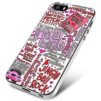Mean Girls Collage iPhone 5   5S   5SE Case Planetscase.com