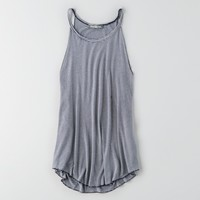 AEO HI-NECK DRAPED TANK