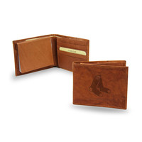 Boston Red Sox MLB Embossed Leather Billfold