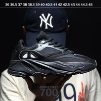PEAP6 Sale Kanye West x Adidas Calabasas Yeezy Boost 700 Runner Sport Shoes Running Shoes Black