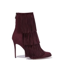 Paul Andrew: Bordeaux Fringe Boot