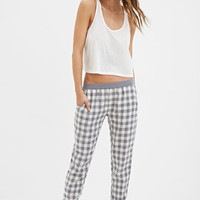 Gingham Pattern PJ Pants