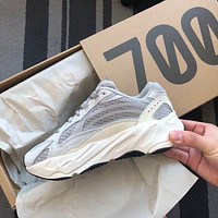 ADIDAS YEEZY 700 trend simple men and women models wild retro casual shoes 3#