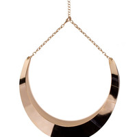 Gold Torq Necklace