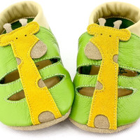 TipsieToes Brand Lovely Cartoon Soft Sole Genuine Leather Baby Kids Moccasins Shoes For Girls And Boys First Walker Summer