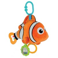 Disney / Pixar Finding Nemo Crib Toy (Orange)
