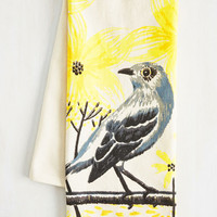 Your Life's Chirp Tea Towel | Mod Retro Vintage Kitchen | ModCloth.com