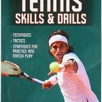 Tennis Skills and Drills Book