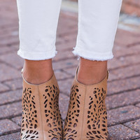 For The Thrill Of It Heels, Tan