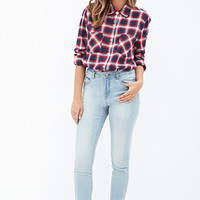 FOREVER 21 Mid Rise - Skinny Jeans