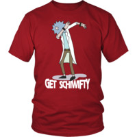 Rick And Morty - Get Schiwifty - Men Short Sleeve T Shirt - TL01262SS