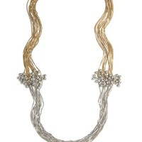 Serendipity Two-Tone Necklace
