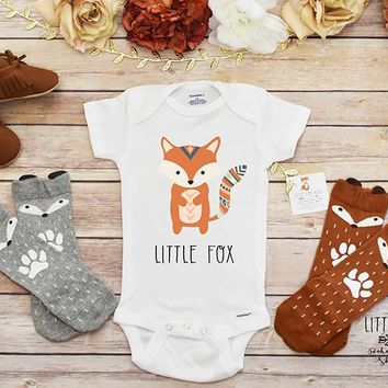 Little Fox Onesuit®, Fox Shirt